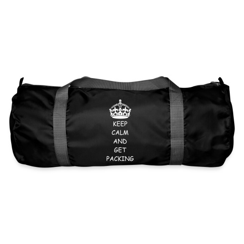 Keep Calm and Get Packing - Duffel Bag