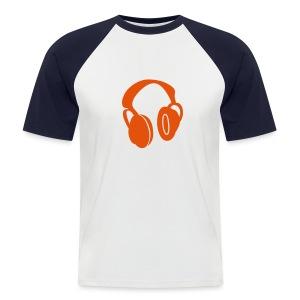 Headphone - T-shirt baseball manches courtes Homme