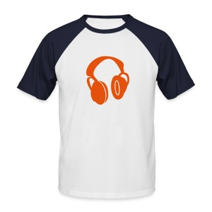 Headphone - T-shirt baseball manches courtes Homme