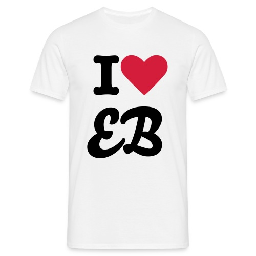 I love EB - Men's T-Shirt