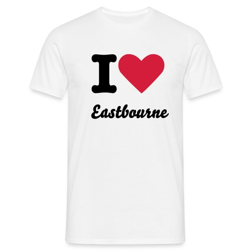 I love EBourne - Men's T-Shirt