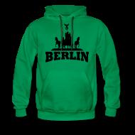 Pullover & Hoodies ~ Männer Premium Kapuzenpullover ~ Berlin Kapuzenpullover Männer