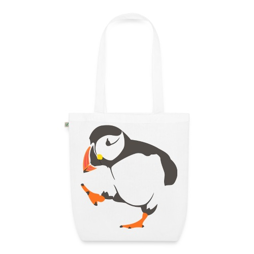 Happy Penguin Bag - EarthPositive Tote Bag
