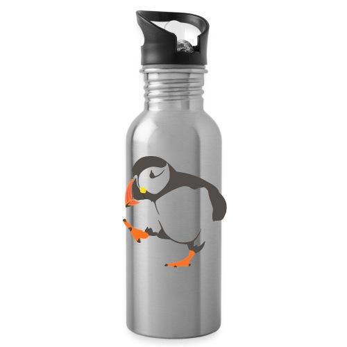 Happy Penguin Water Bottle - Water Bottle