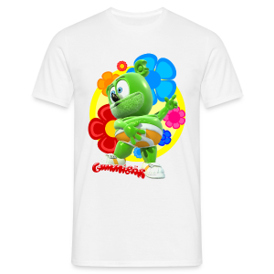 Gummibär Fun Flowers Men's Classic T-Shirt - Men's T-Shirt