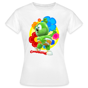 Gummibär Fun Flowers Ladies Classic T-Shirt - Women's T-Shirt