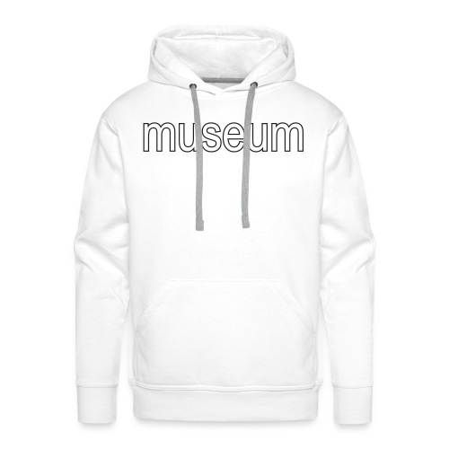 Men's Premium Hoodie - Black Glitter Special Flex Print