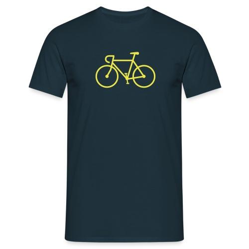 Fahrrad Icon - Männer T-Shirt