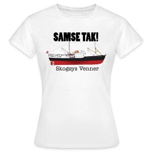 Samse tak! - T-skjorte for kvinner