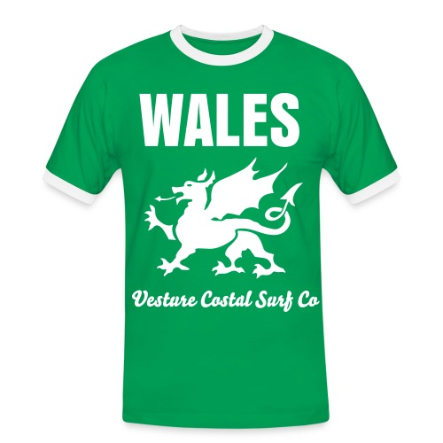 Wales Costal Surf Co - Men's Ringer Shirt