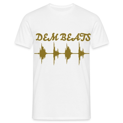 DEM BEATS t-shirt  - Mannen T-shirt