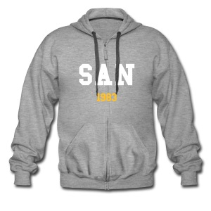 SAN Jacket - Men's Premium Hooded Jacket