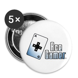 Spille Ace Gamer - Spilla grande 56 mm