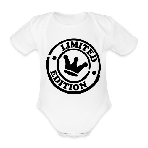 Limited edition baby grow - Organic Short-sleeved Baby Bodysuit