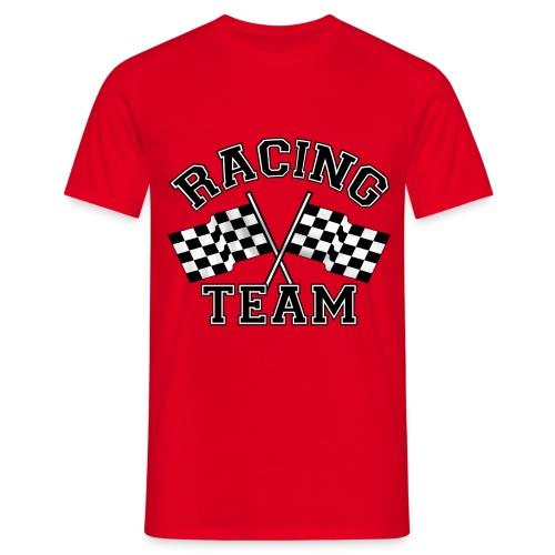 racing team flags - Men's T-Shirt