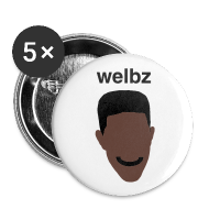 Buttons ~ Buttons small 25 mm ~ Welbz - Small buttons