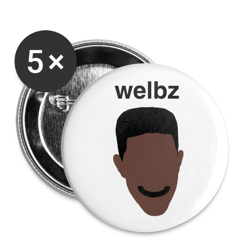 Welbz - Small buttons - Buttons small 1''/25 mm (5-pack)