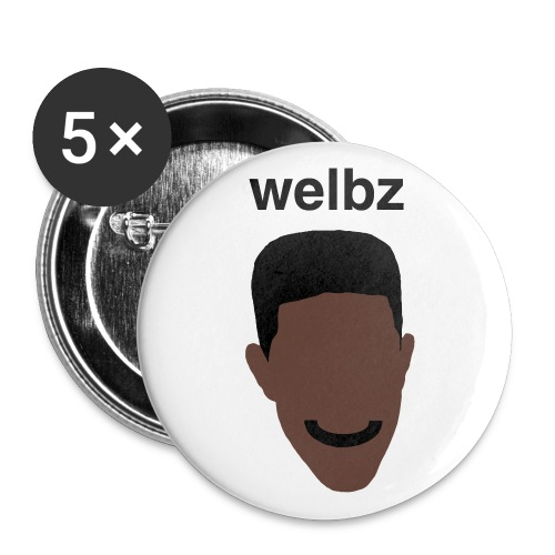 Welbz - Large buttons - Buttons large 2.2''/56 mm (5-pack)