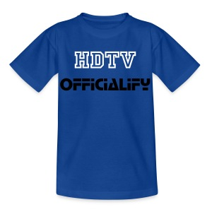 Teens HDTVofficialify t-shirt - Teenage T-shirt