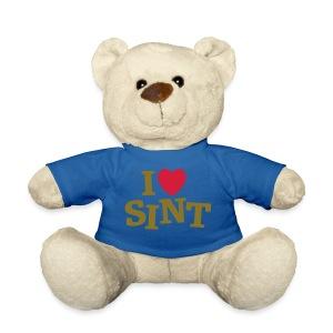 Knuffel I hartje Sint - Teddy