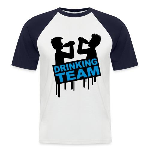 Drinking Team - Men's Baseball T-Shirt
