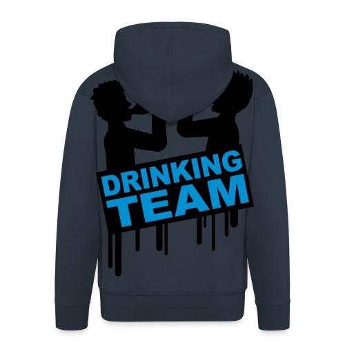 Drinking Team - Men's Premium Hooded Jacket