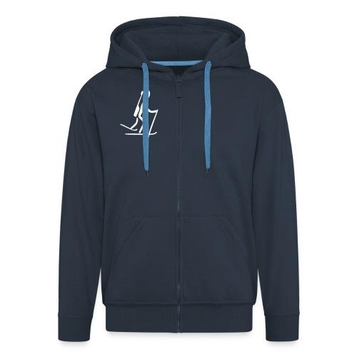 Biathlon Jacke - Männer Premium Kapuzenjacke