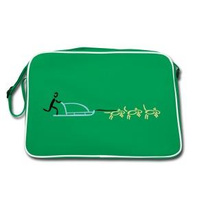 Hundeschlitten Tasche - Retro Tasche