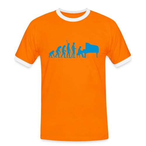 L'évolution selon Chriam - T-shirt contrasté Homme