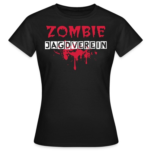 Zombie Jagdverein Logo Girli-Shirt - Frauen T-Shirt