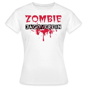 Zombie Jagdverein Logo Girli T-shirt  - Frauen T-Shirt