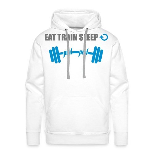 Eat Train Sleep - Premium hettegenser for menn