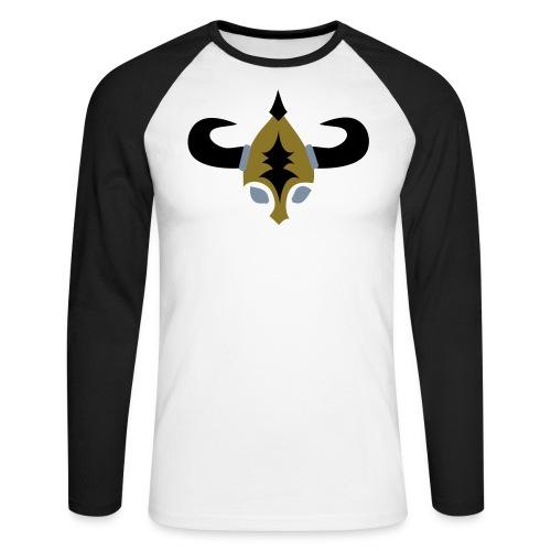 SAXON - Men's Long Sleeve Baseball T-Shirt