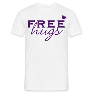free hugs - Mannen T-shirt