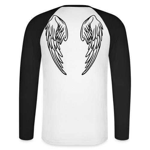 ANGELS - Men's Long Sleeve Baseball T-Shirt
