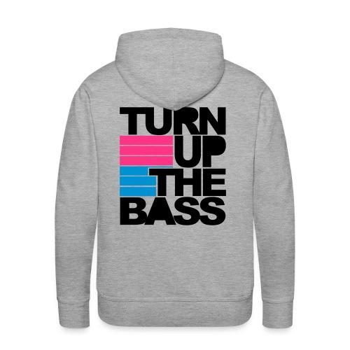 Hoodie music. - Mannen Premium hoodie