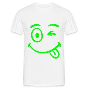 crazy - Mannen T-shirt