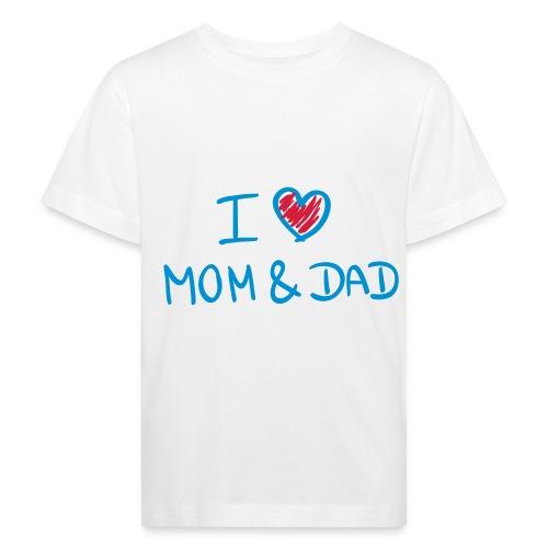 I lovee - Kinderen Bio-T-shirt