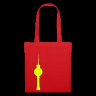 Taschen & Rucksäcke ~ Stoffbeutel ~ Fernsehturm Tasche