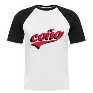 coño - Mannen baseballshirt korte mouw
