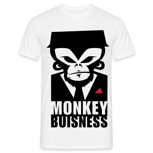 Monkey Buisness - Men's T-Shirt