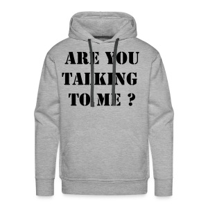 Talking  - Sweat-shirt à capuche Premium pour hommes
