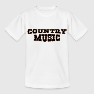 country music T-shirts - Teenager-T-shirt