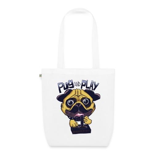 Pug & Play - Borsa ecologica in tessuto