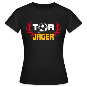 Torjäger Black Edition - Frauen T-Shirt