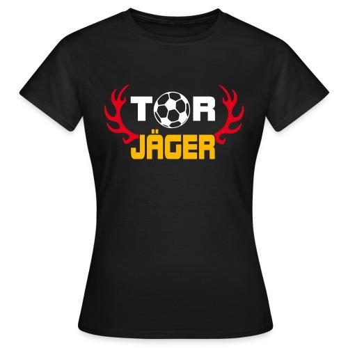 Torjäger Black Edition - Frauen T-Shirt