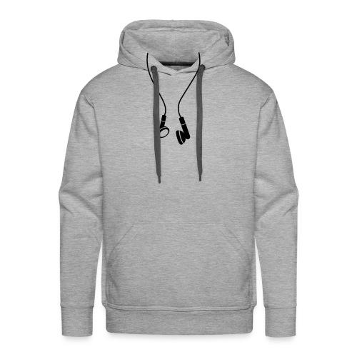 Headphones Hood - Men's Premium Hoodie