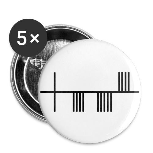 ASNC Ogam badges - Buttons medium 32 mm