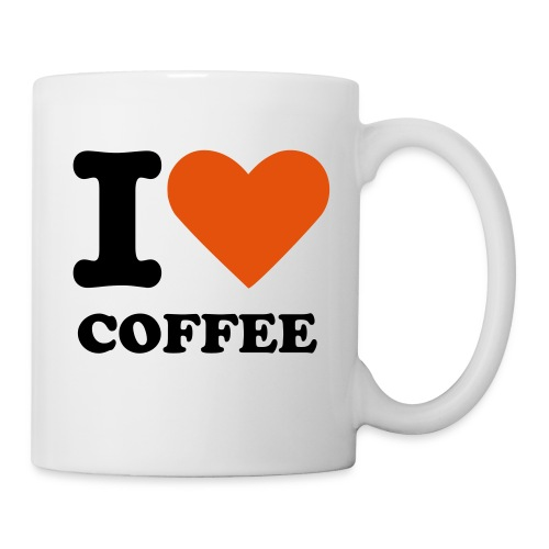 I Love Coffee - Mug