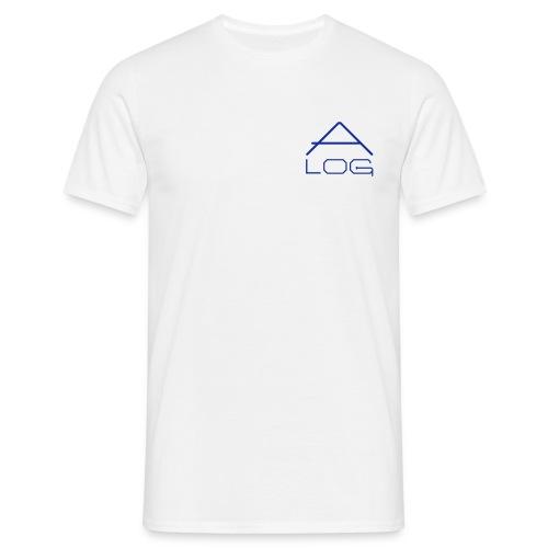 CLASSIC SHIRT / MALE / LOGOS BLUE - Männer T-Shirt